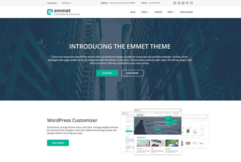 20+ Fresh And Modern WordPress Themes Of This Summer 2016 To Create A Website Today