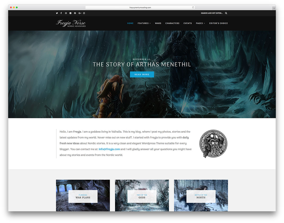 freya-gaming-wordpress-blog-theme