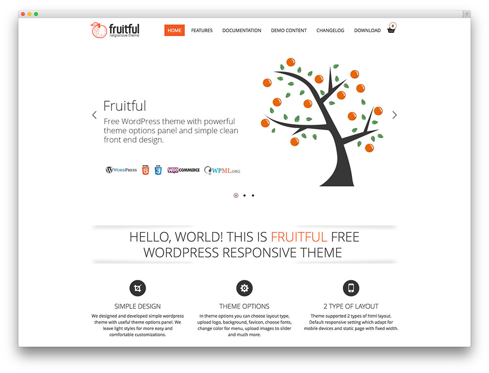 fruitful eCommerce theme