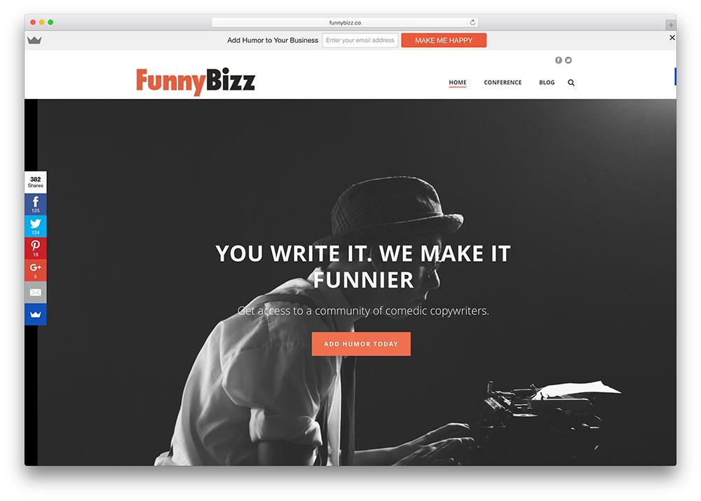 funnybizz-copywritter-service-based-on-jupiter-theme