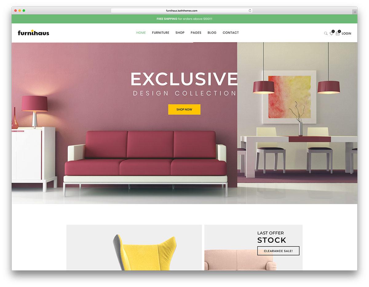 18 Professional Furniture WordPress Themes 2019 - Colorlib