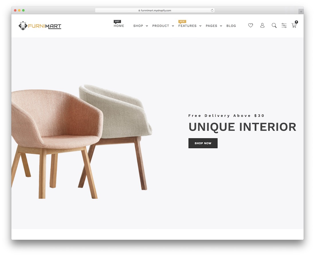 furnimart simple shopify theme