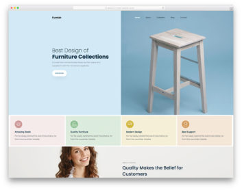 Furnish Colorlib Template