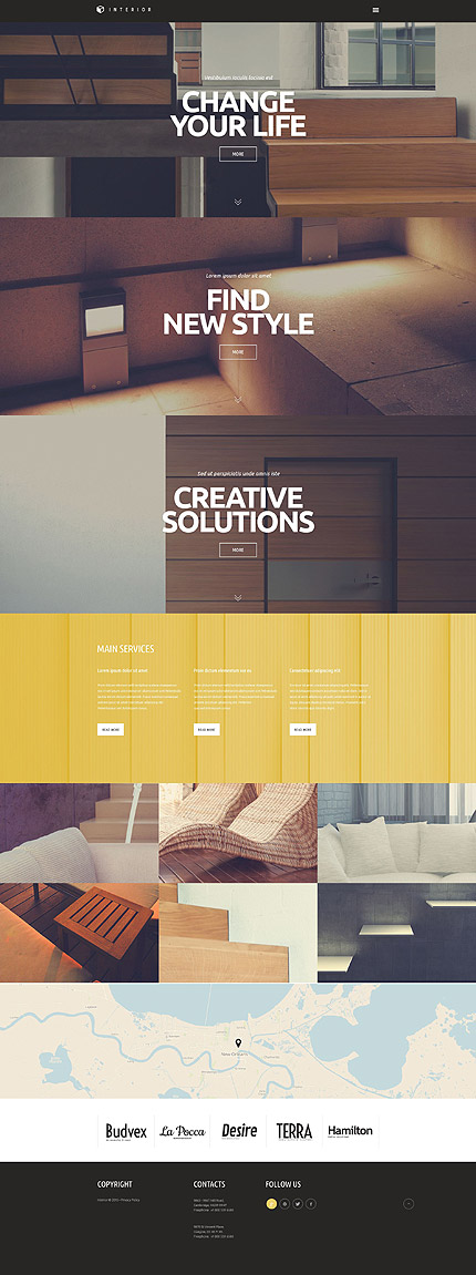 20 New Professional Furniture Wordpress Themes 2017 - Colorlib