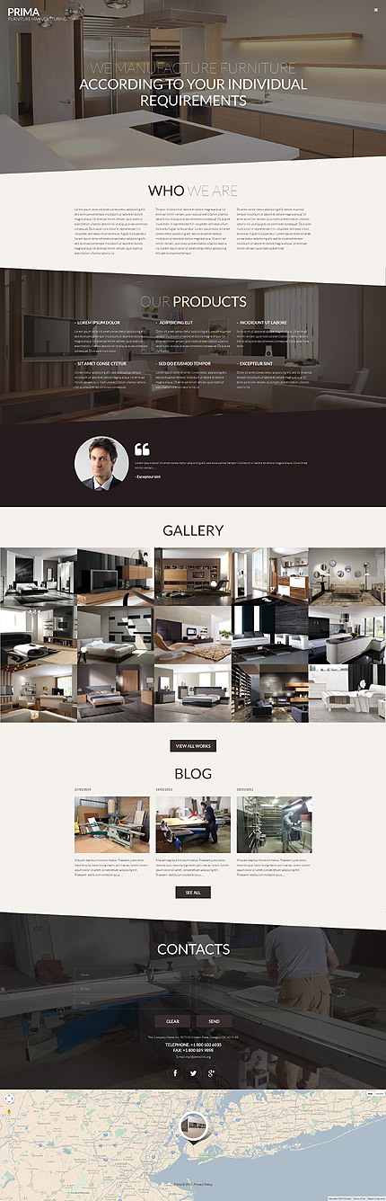 26 New Professional Furniture WordPress Themes 2018 - Colorlib
