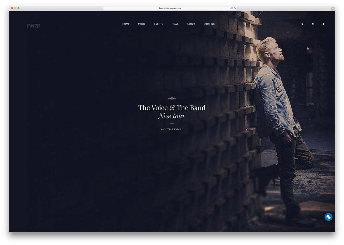fwrd-music-wordpress-theme