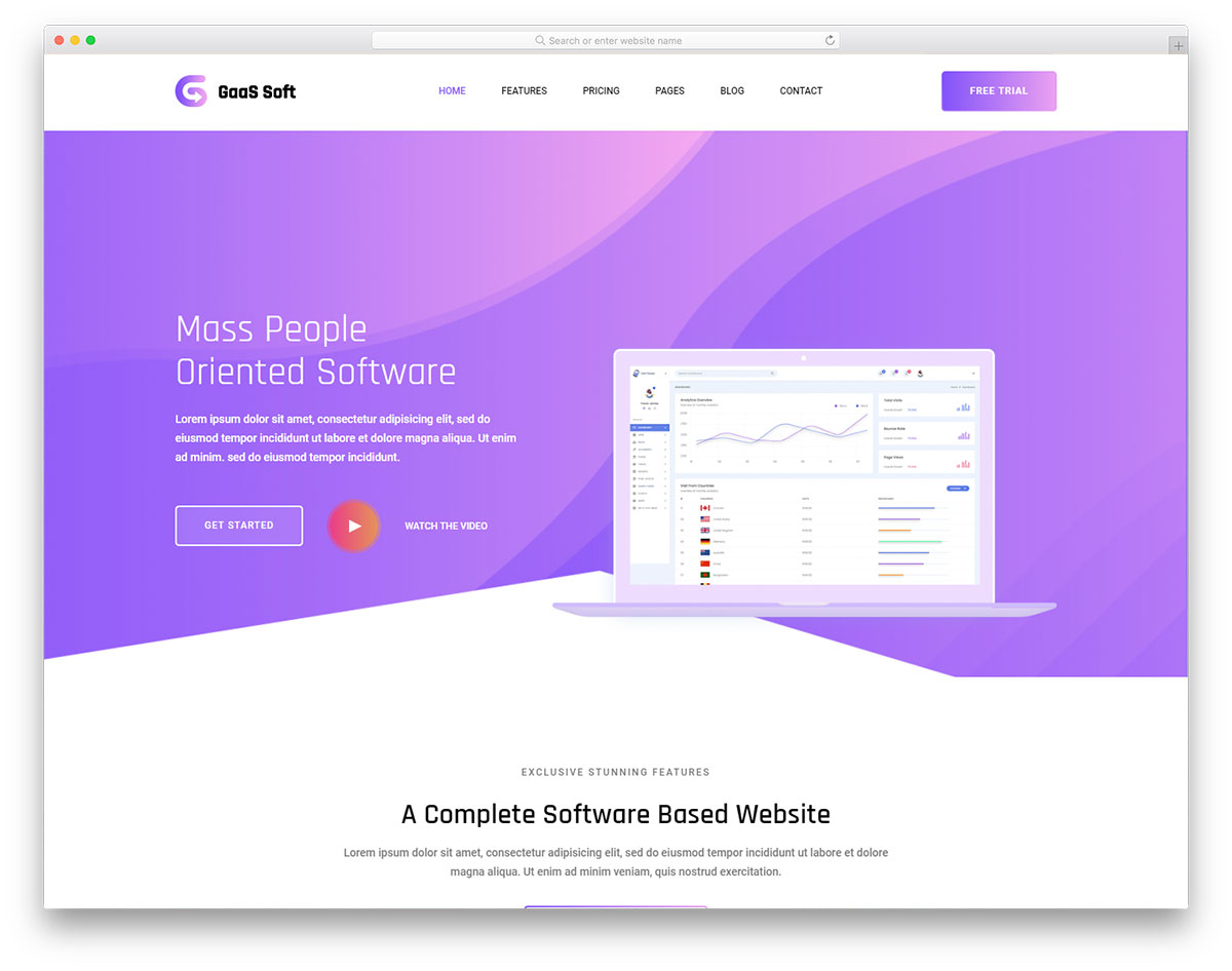 gaas free template