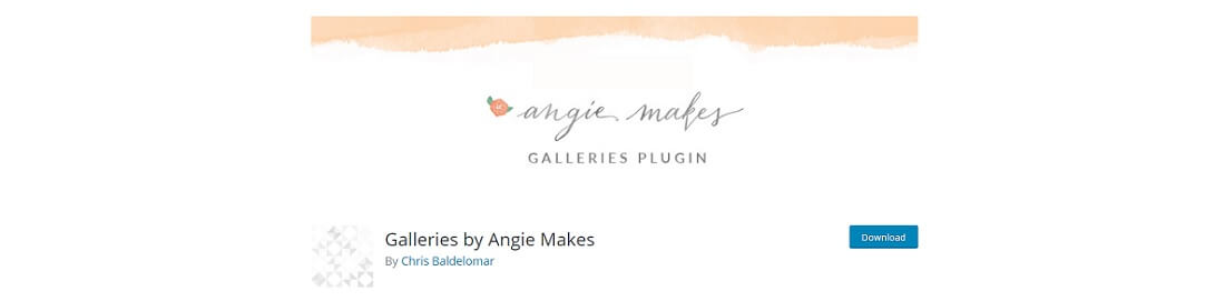 galleries by angie makes free wp plugin