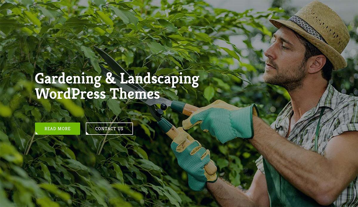 20 Best Gardening & Landscaping WordPress Themes 2019