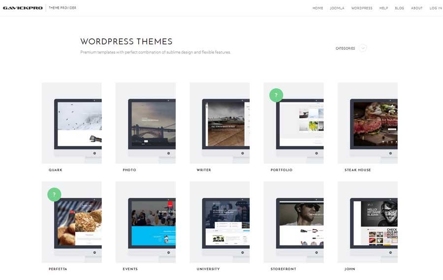 gavickpro-parallax-wordpress-themes