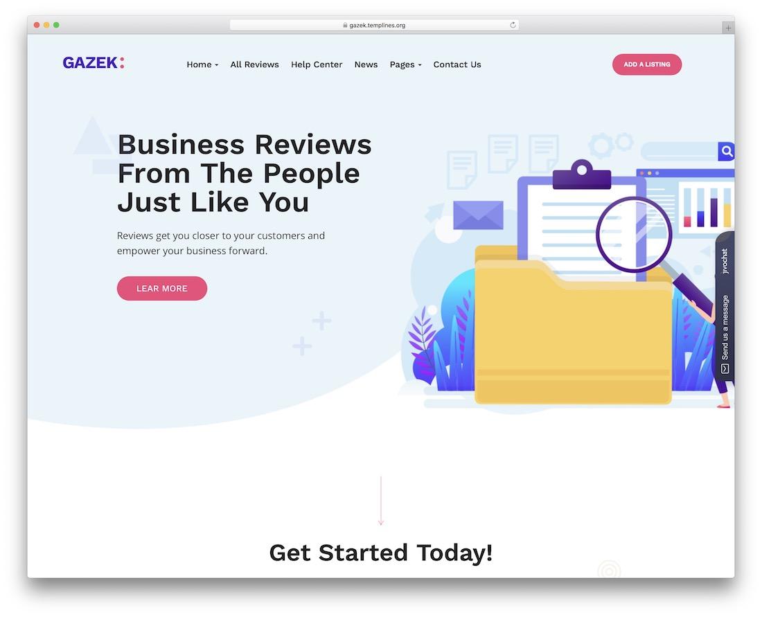 gazek membership wordpress theme