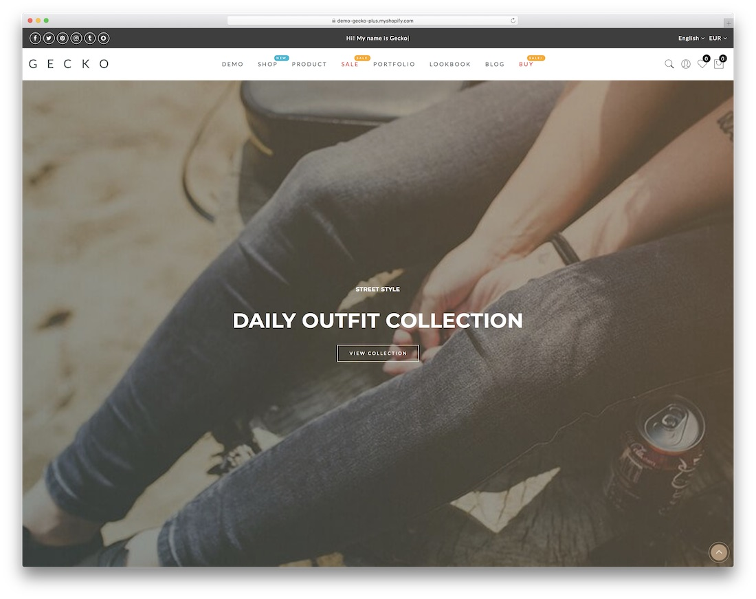 gecko best shopify theme