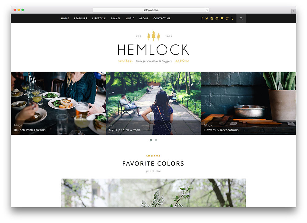 gemlock-popular-food-blog-theme