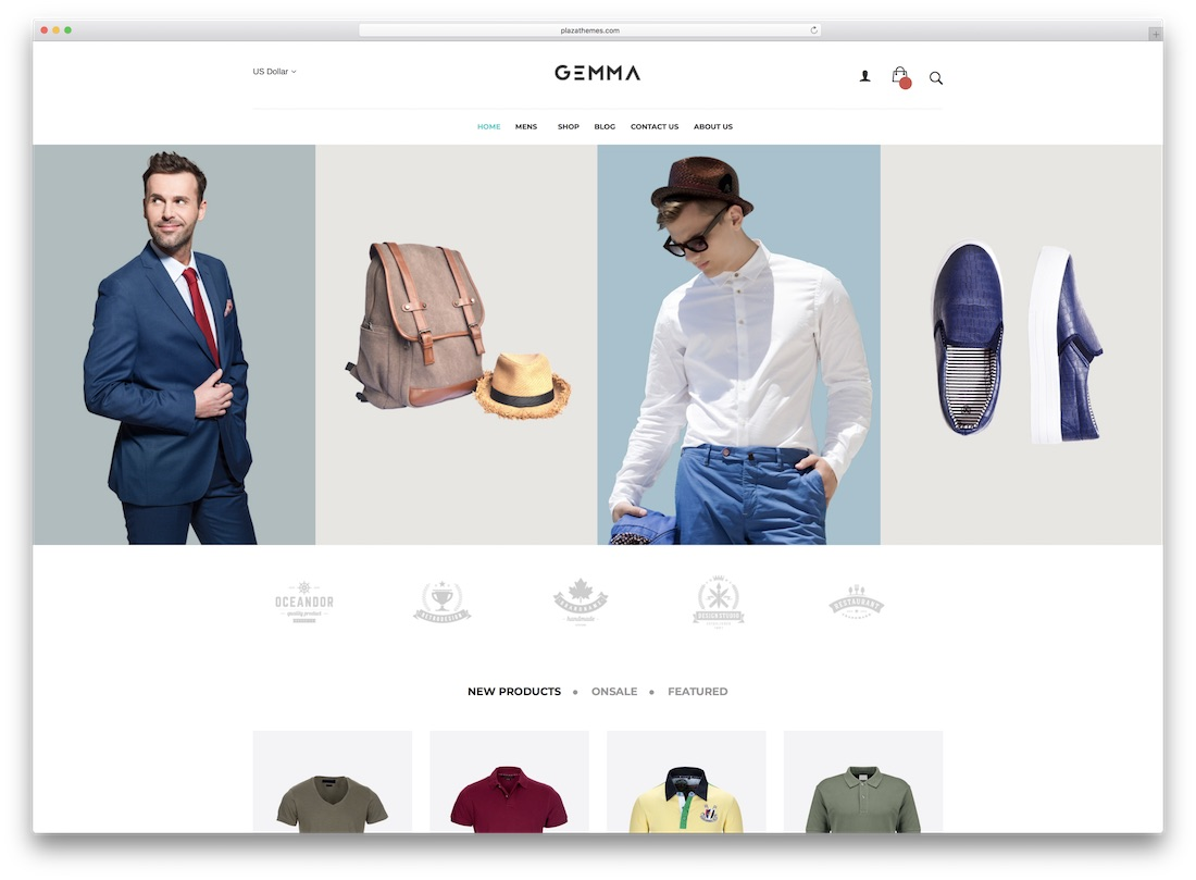 gemma magento fashion theme