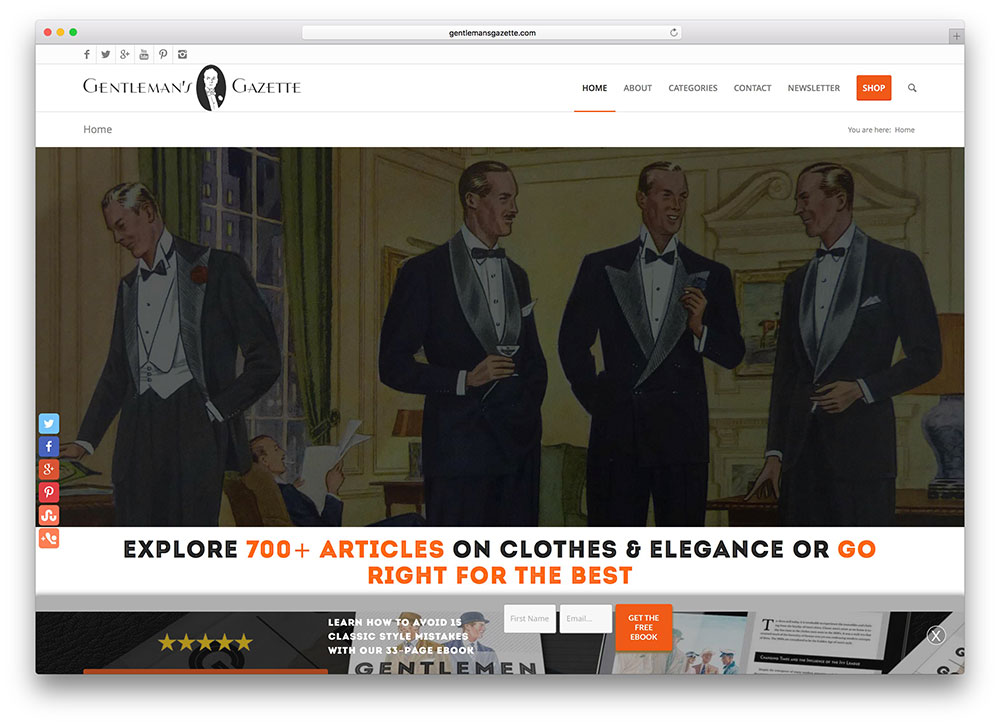 gentlemansgazette-small-business-site-with-enfold-theme