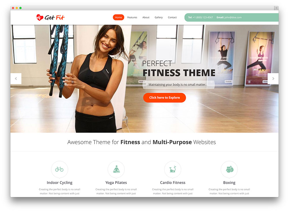 15 Amazing CrossFit WordPress Themes For Communities 2017 - colorlib