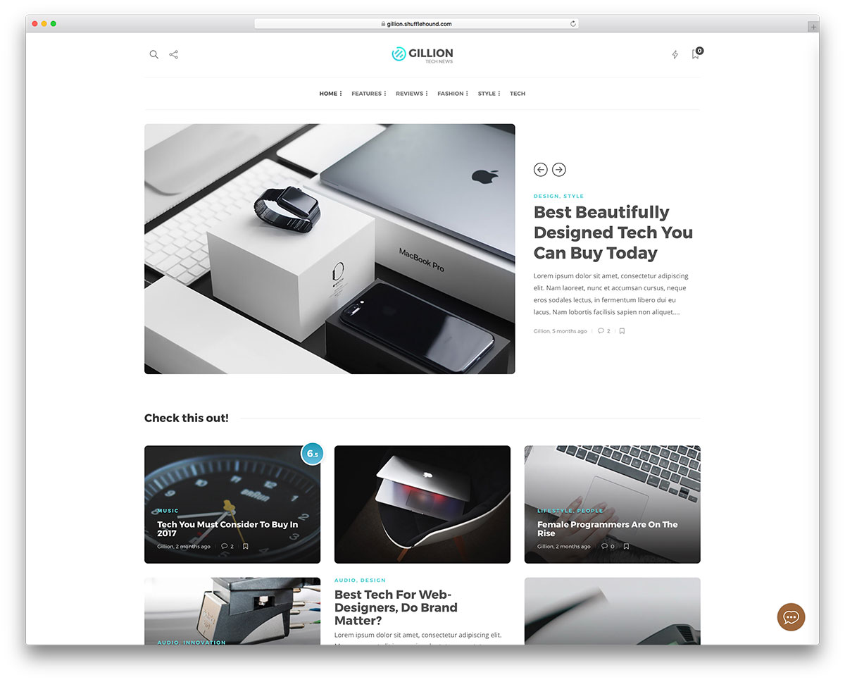 30 Best HTML5/CSS3 Website Templates 2019 - Colorlib