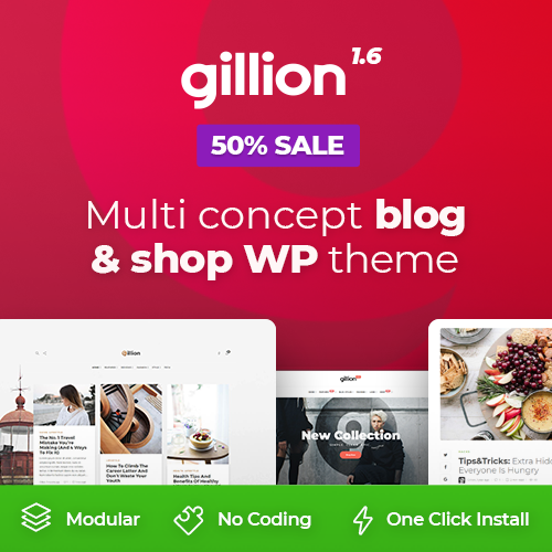 Gillion Themes on Colorlib