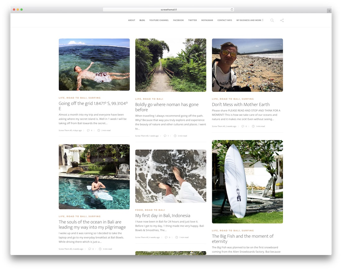 10 Outstanding Gillion WordPress Theme Examples