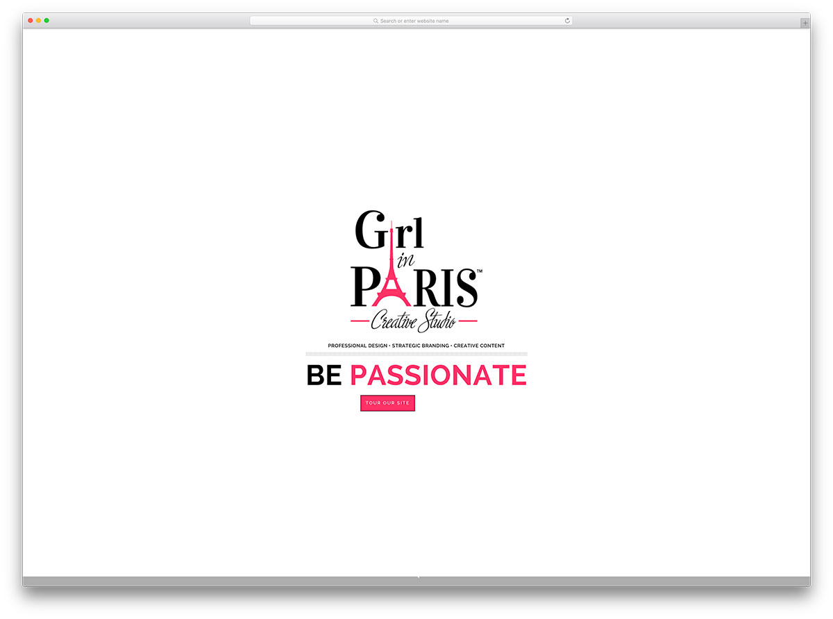 girlinparis-brand-marketing-website-with-brooklyn-theme