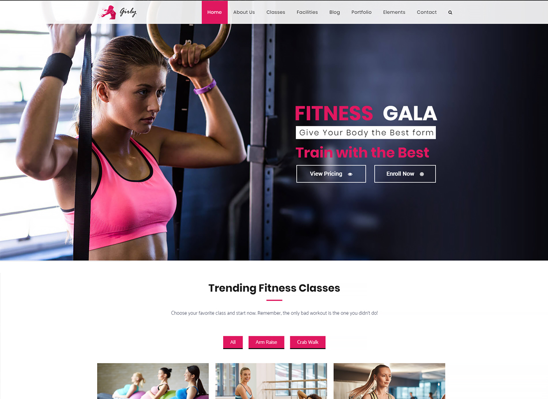Gym | Fitness & Gym WordPress Theme