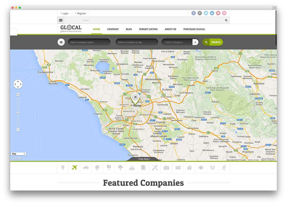 glocal - global business directory