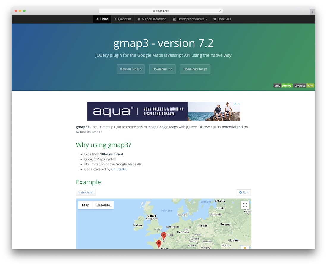 gmap3 jquery map plugin