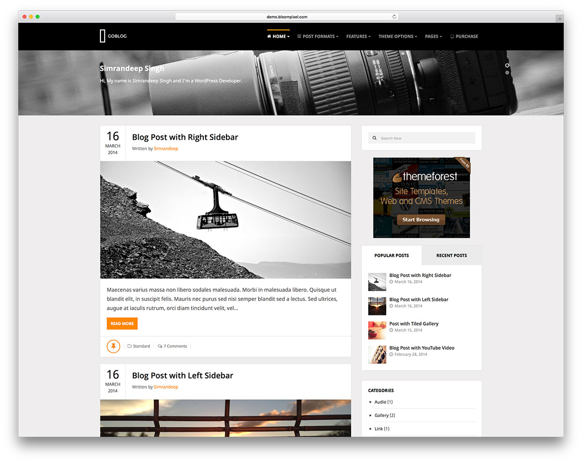 Wordpress Category Page Template Gallery - professional ...
