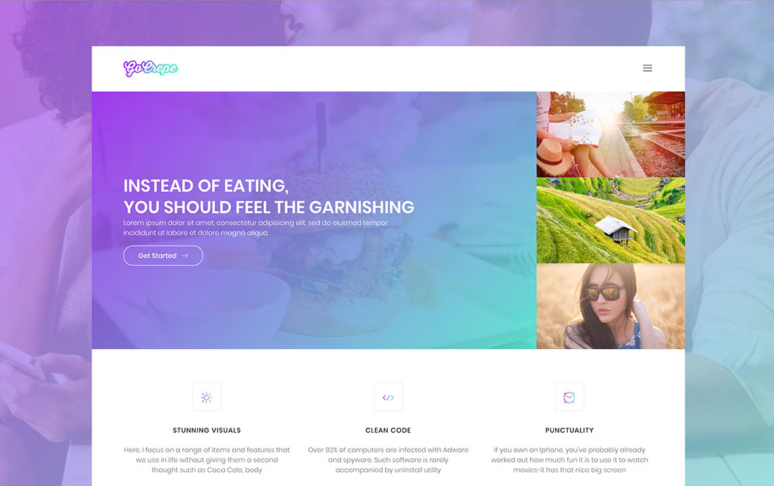 gocrepe-free-bootstrap-gallery-templates