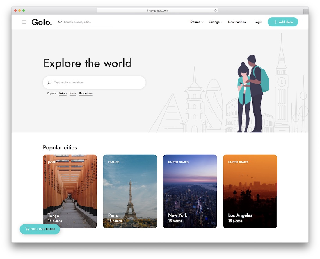 golo directory wordpress theme