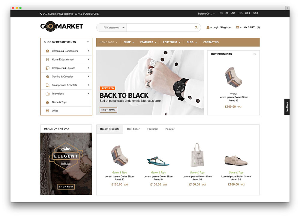48 Best WooCommerce WordPress Themes To Build Awesome eStore 2018 ...