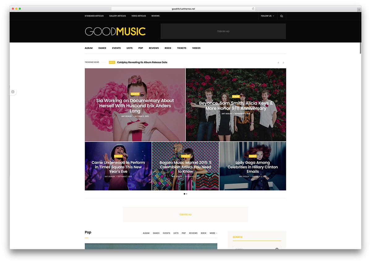 goodlife-simple-music-magazine-theme