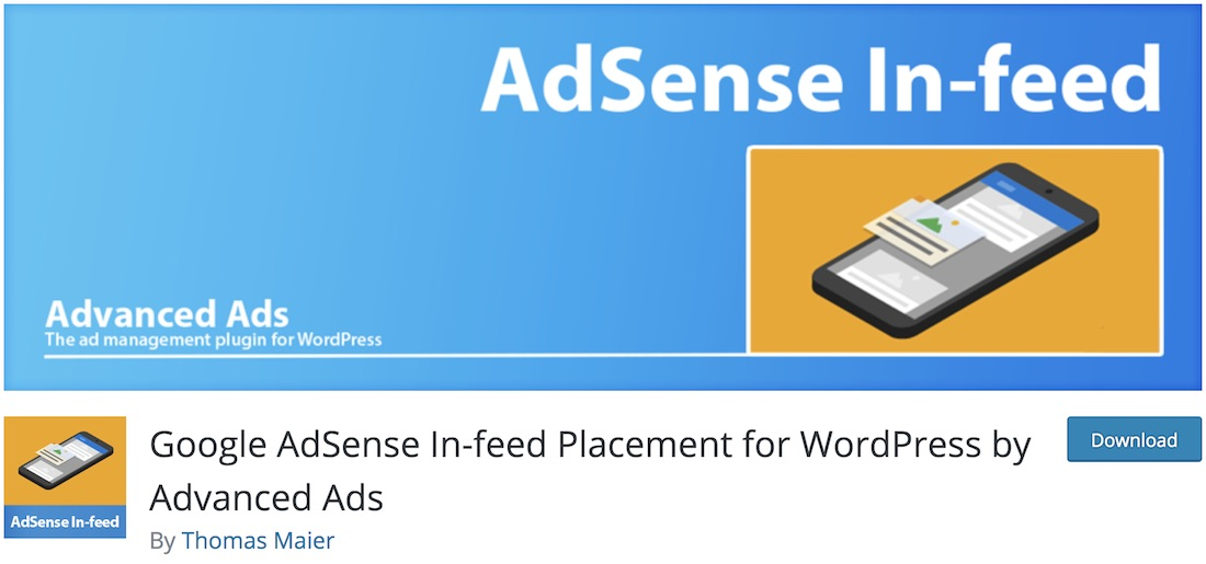 google adsense in feed