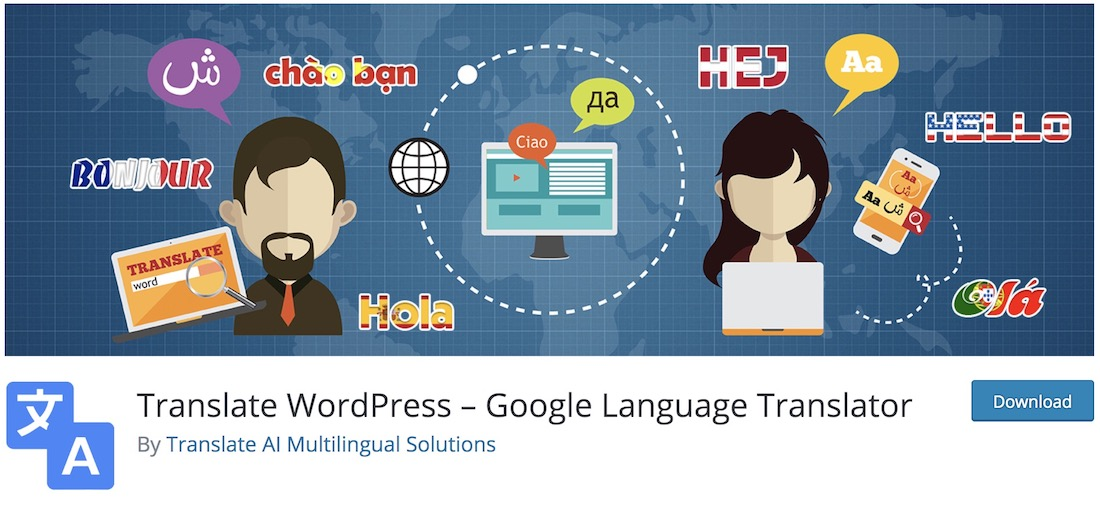 google language translator wordpress multilingual plugin