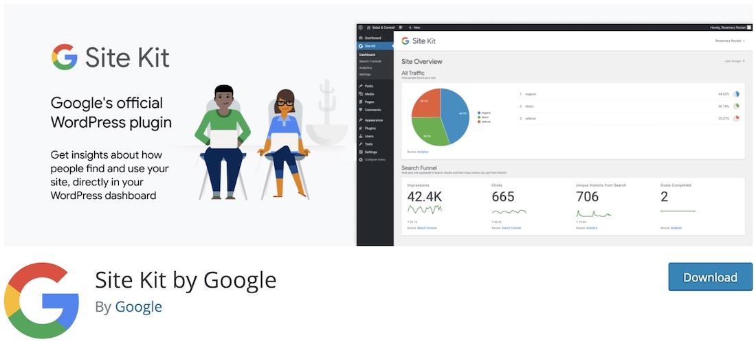 kit de site google