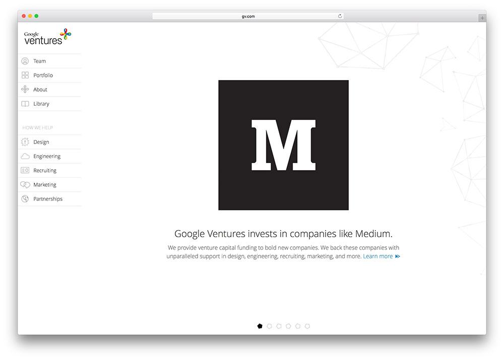 google-ventures-wordpress-website