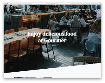 Gourmet Free Template