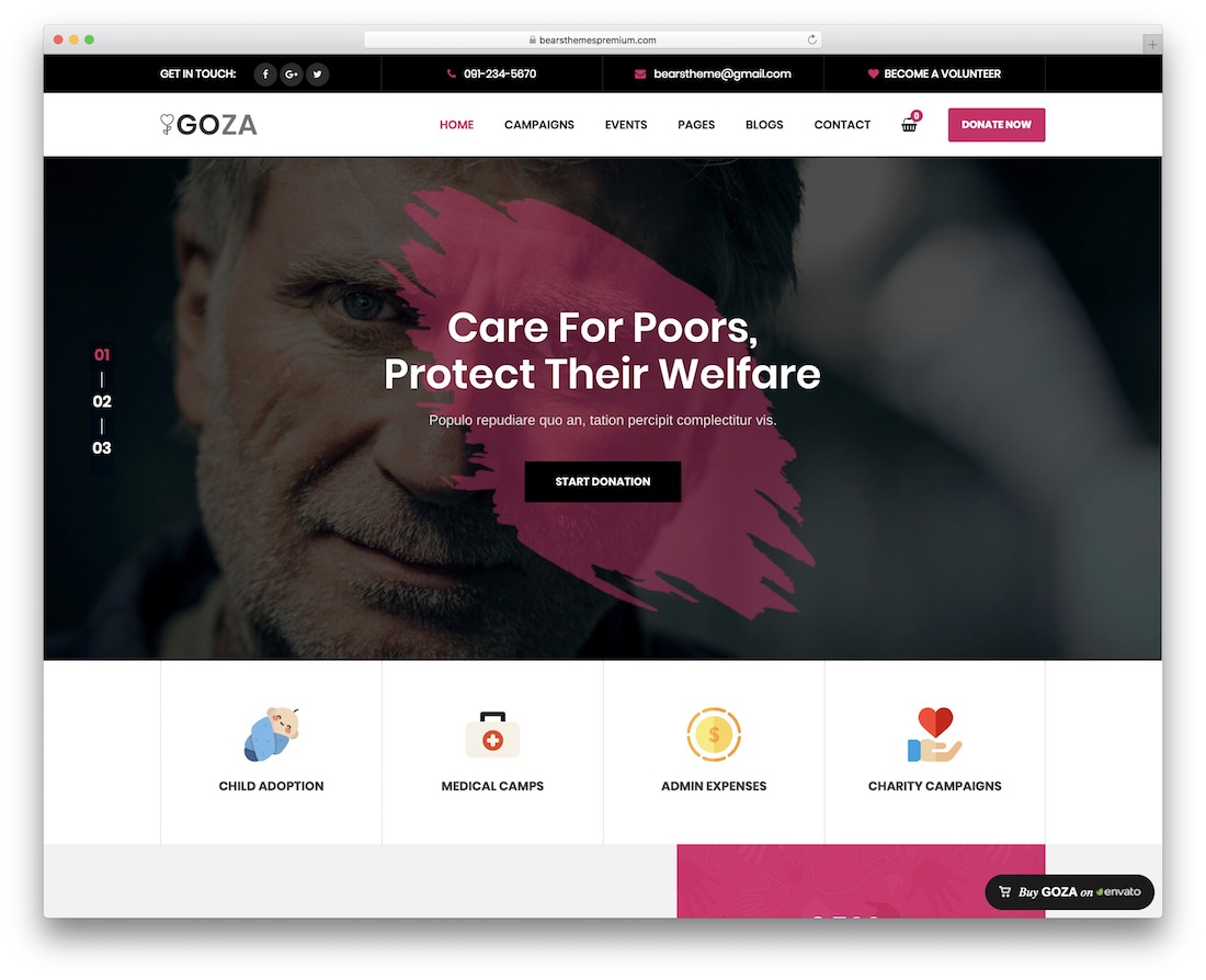 goza wordpress theme