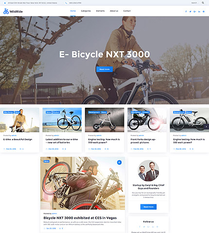 WildRide Responsive WordPress Theme