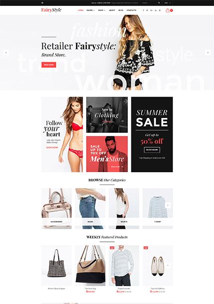 Fairy Style WooCommerce Theme