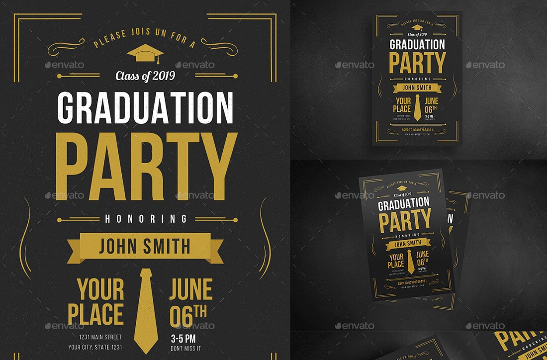 17 Best Editable Party Invitation Templates in 2017 - Colorlib