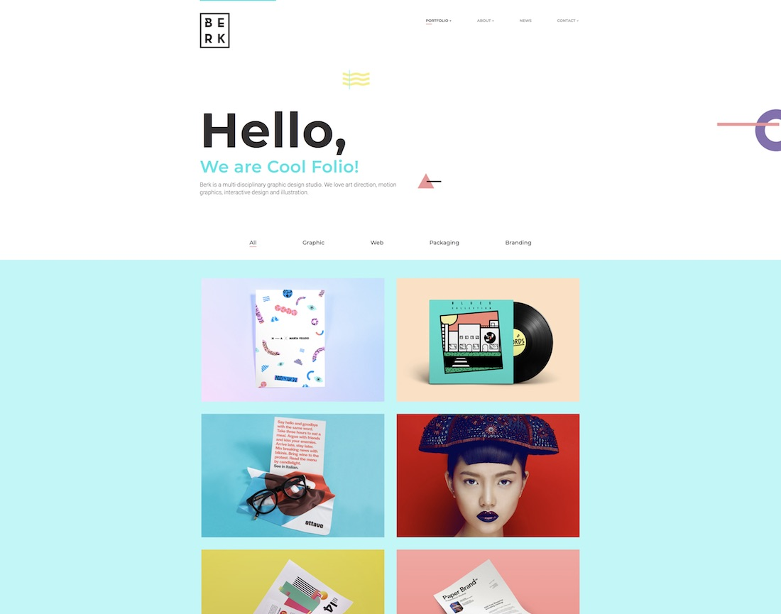 26 Best Responsive Graphic Design Website Templates 2018