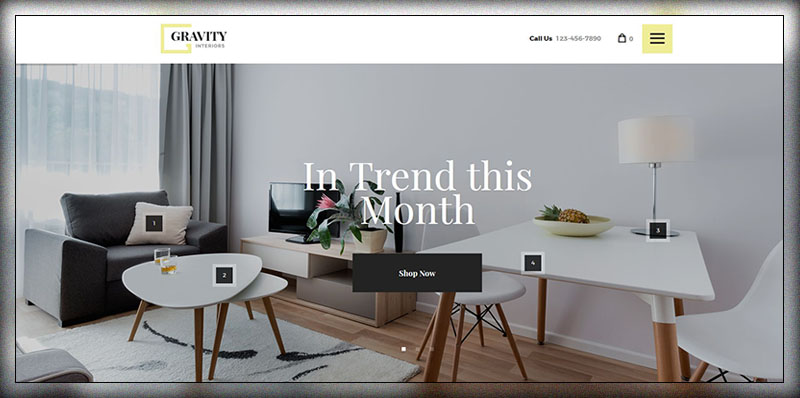 20 Best Interior Design WordPress Themes 2017 Colorlib