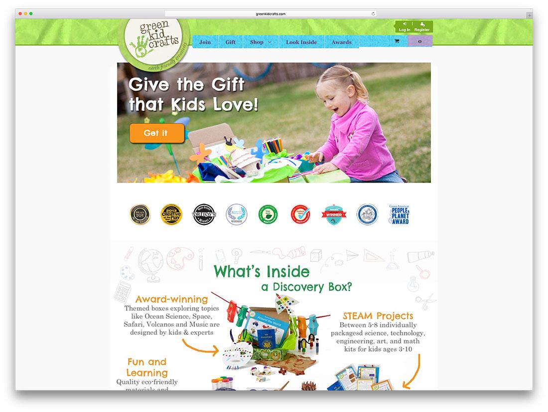 greenkidcrafts-creative-woocommerce-powered-website