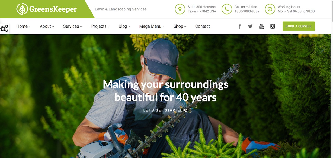Nice ImiThemes Are Highly Experienced WordPress Users Who Produce Unique And  Authentic WordPress Themes. While GreensKeeper Isnu0027t Their Flagship Theme,  ...