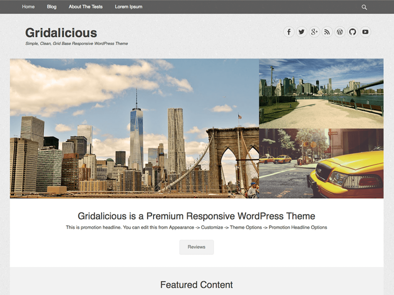 How to create a featured content gallery in wordpress - Firstly The Gridalicious Theme Stands Out With A Superb And Immaculate Design Presence Secondly It Is Maintained By Catch Themes Who Are Known For Their