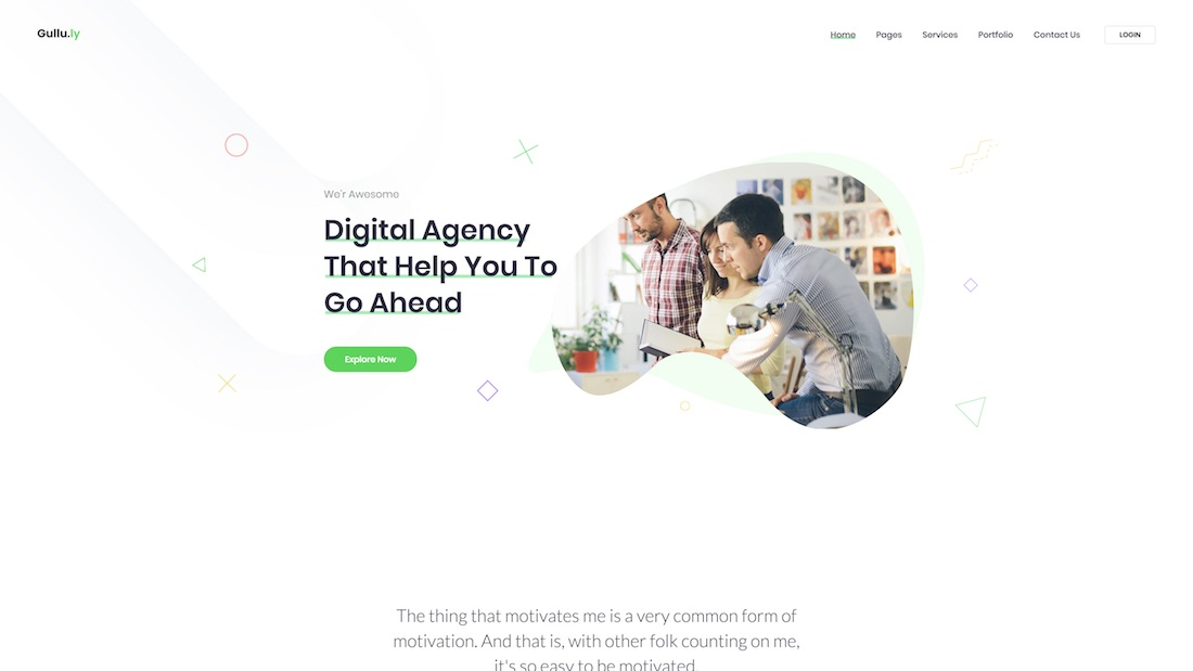 gullu-ly website template