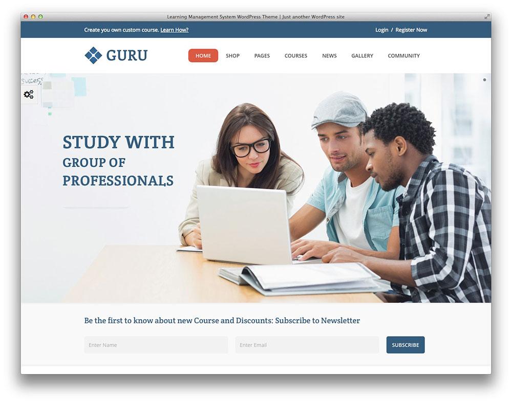 Guru - Learning Management System