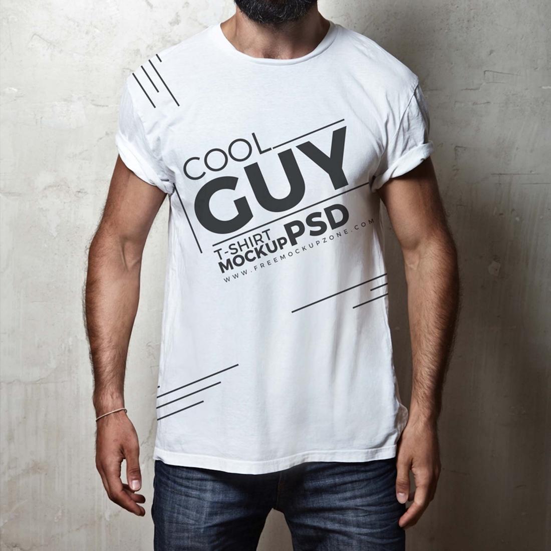 guy shirt mockup