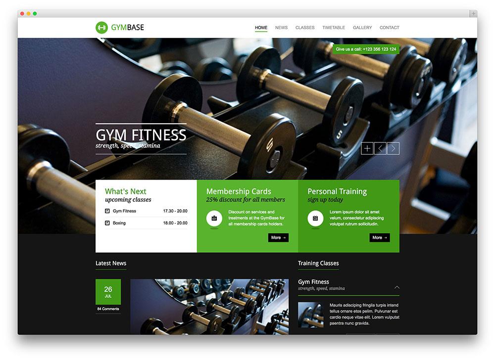 gymbase bestselling gym theme